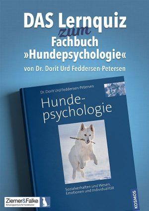 """Das Lernquiz zum Fachbuch """"Hundepsychologie"""""""
